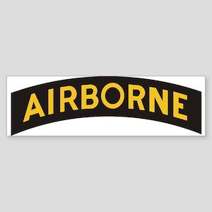AIRBORNE Tab Bumper Sticker