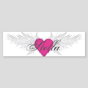 Stella-angel-wings Sticker (Bumper)
