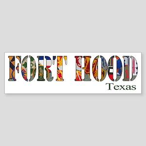 Fort Hood Bumper Sticker