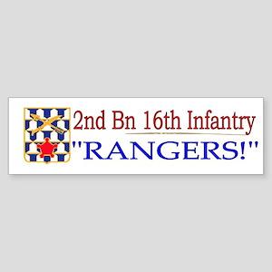 2nd Bn 16th Infantry Sticker (Bumper)