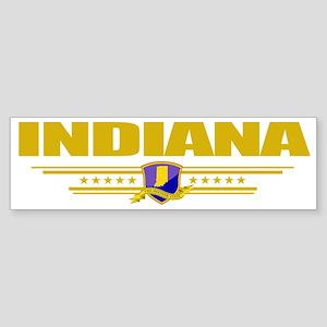 Indiana (Flag 10) pocket Sticker (Bumper)