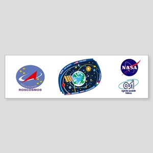 Exp 52, Actual Crew Sticker (Bumper)