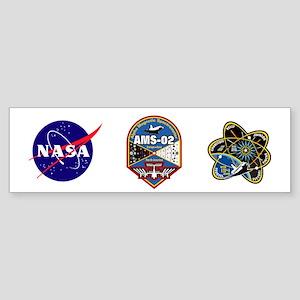 AMS-02 Sticker (Bumper)