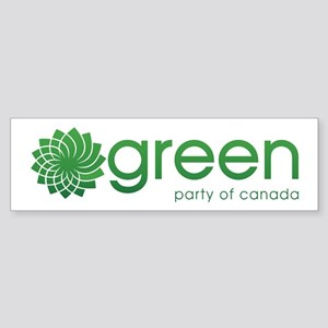 Green Party Of Canada Sticker (Bumper)