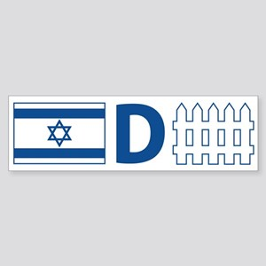Israel Defense Bumper Sticker