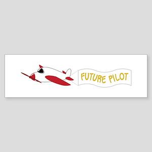 Future Pilot Bumper Sticker