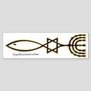 Messianic Seal Of Jerusalem Bumper Sticker
