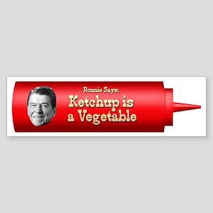 Reagan Ketchup bumper sticker