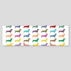 dach-multi-mug Bumper Sticker