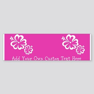 Bright Colorful Pink Neon Custom Sticker (Bumper)