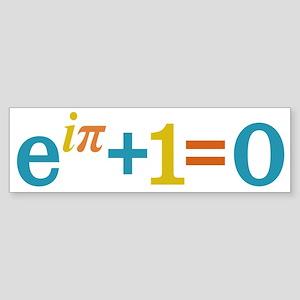 Eulers Identity Bumper Sticker