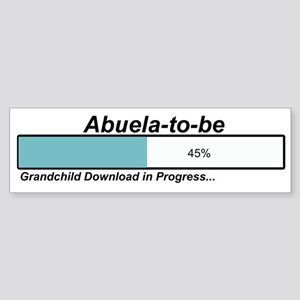 Download Abuela to Be Bumper Sticker