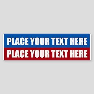 America Text Message Sticker (Bumper)
