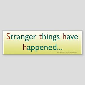 Stranger Things Bumper Sticker