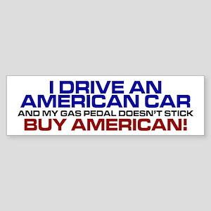 American Car Bumper Sticker