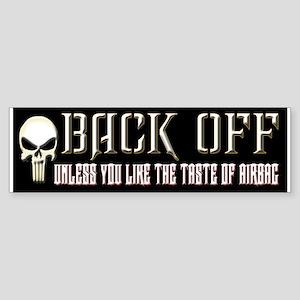Back Off Sticker (Bumper)