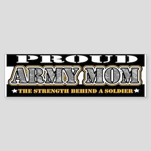 Proud Army Mom Sticker (Bumper)