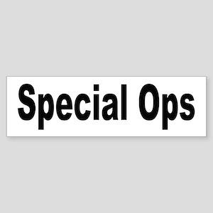 Special Ops Bumper Sticker