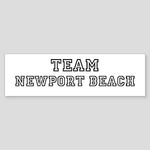 Team Newport Beach Bumper Sticker