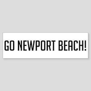 Go Newport Beach! Bumper Sticker