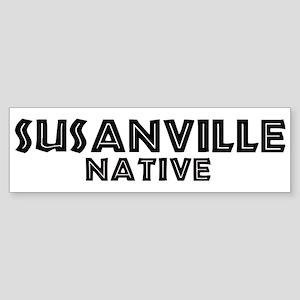 Susanville Native Bumper Sticker