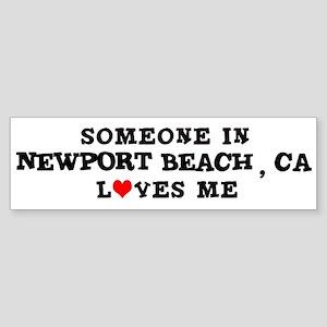 Someone in Newport Beach Bumper Sticker