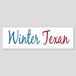 Winter Texan Bumper Sticker