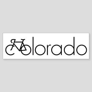 Bike Colorado Sticker (Bumper)