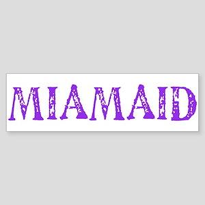 LDS MIAMAID logo Bumper Sticker
