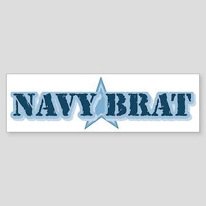 Navy Brat Bumper Sticker