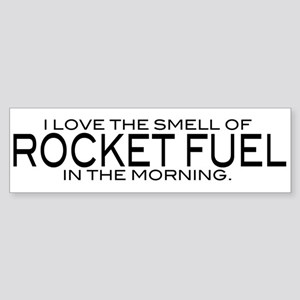 Rocket Fuel Bumper Sticker