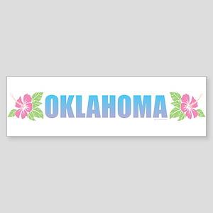 Oklahoma Design Bumper Sticker