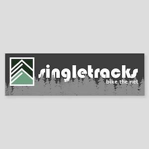 Singletracks bumper sticker