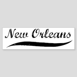 New Orleans (vintage] Bumper Sticker