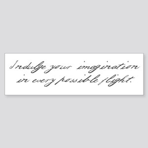 Pride and Prejudice - Indulge Sticker (Bumper)