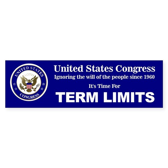 Congressional Term Limits Bumper 01