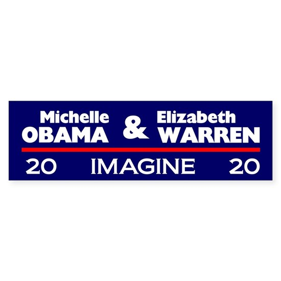 Michelle Obama and Elizabth Warren