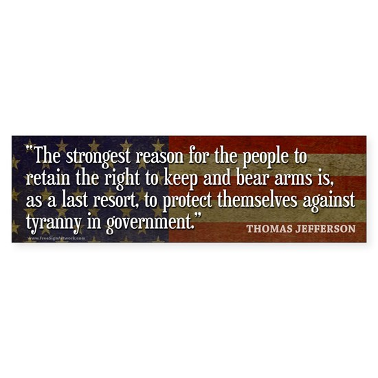 TJ Quote 2nd Amendment