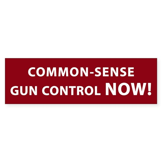 Common Sense Gun Control NOW!