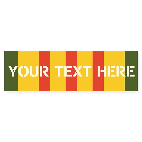 Personalize Vietnam Ribbon