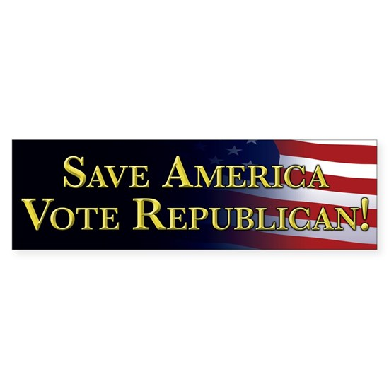 Save America Vote Republican!