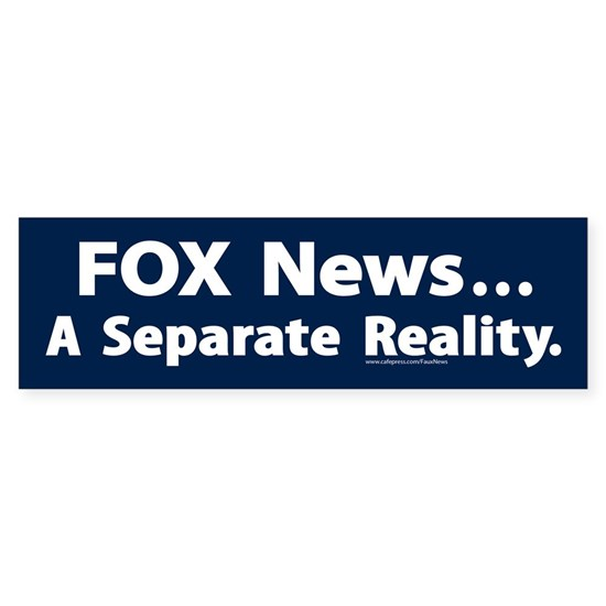 FOX News: A Separate Reality