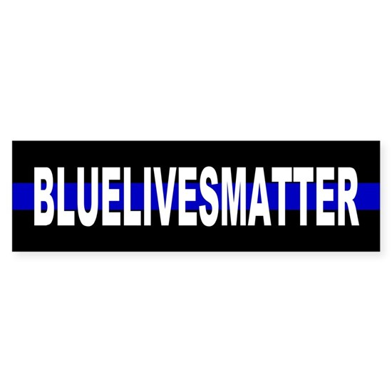 Blue Lives Matter Thin Blue Stripe