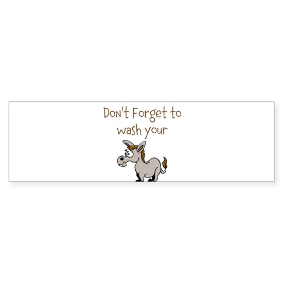 Funny Donkey Design with Message