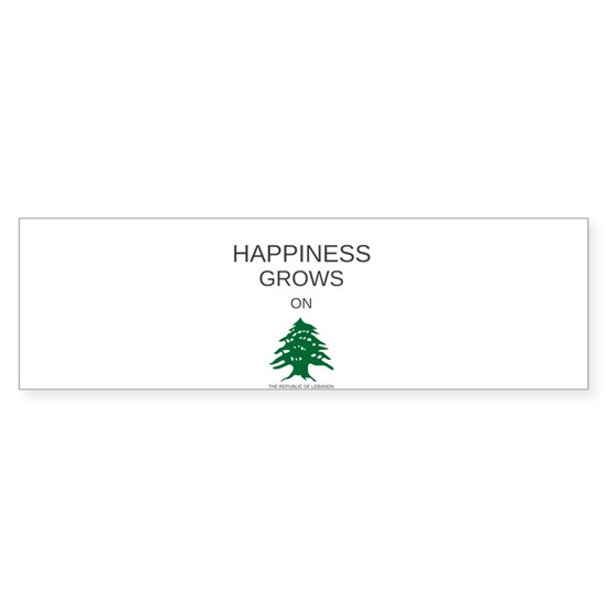 HAPPINESS GROWS ON TREES