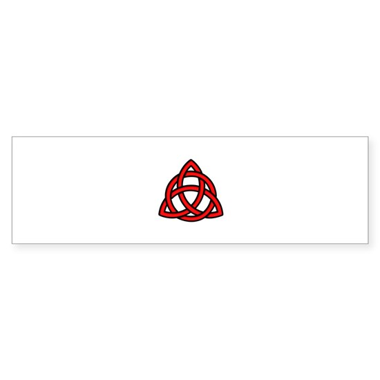Celtic Knot Red