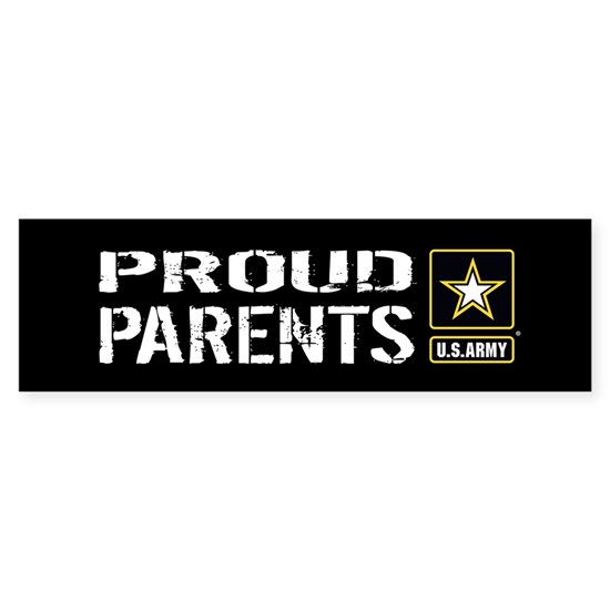 U.S. Army: Proud Parents (Black & Gold)