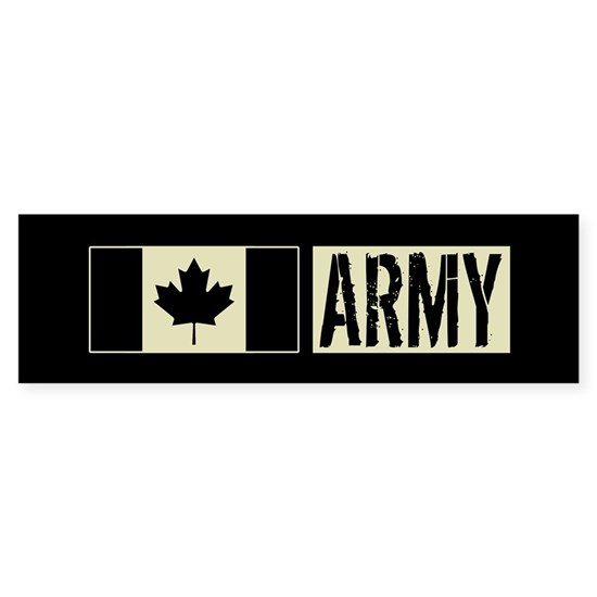 Canadian Military: Army (Black Flag)
