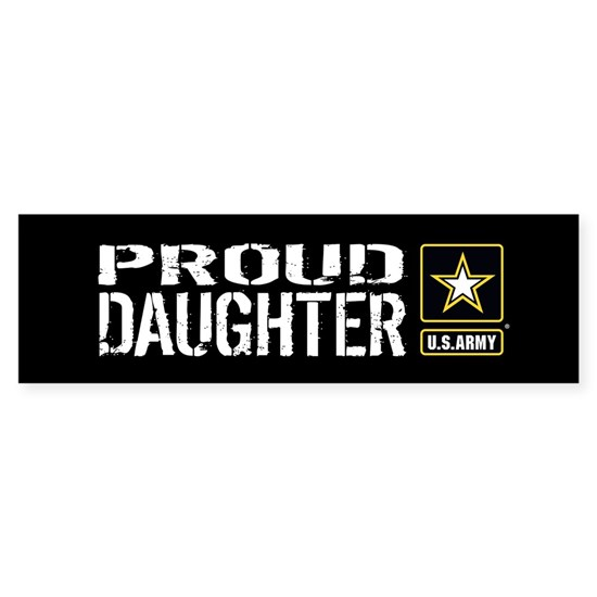 U.S. Army: Proud Daughter (Black)