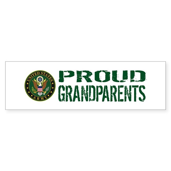 U.S. Army: Proud Grandparents (Green & White)